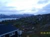 udsigten fra Hotel Angmagssalik