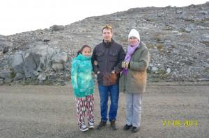 Iinngi,Jesper og Charlotte DY4