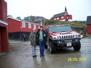 Charlotte og Jesper i Tasiilaq
